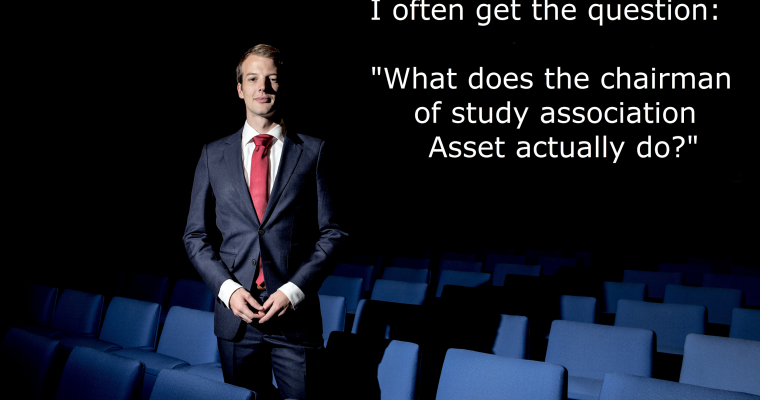 A year of the independent chairman of Asset: Joep Paumen