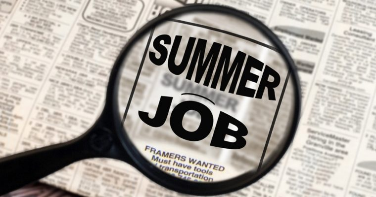 My summer job in sales