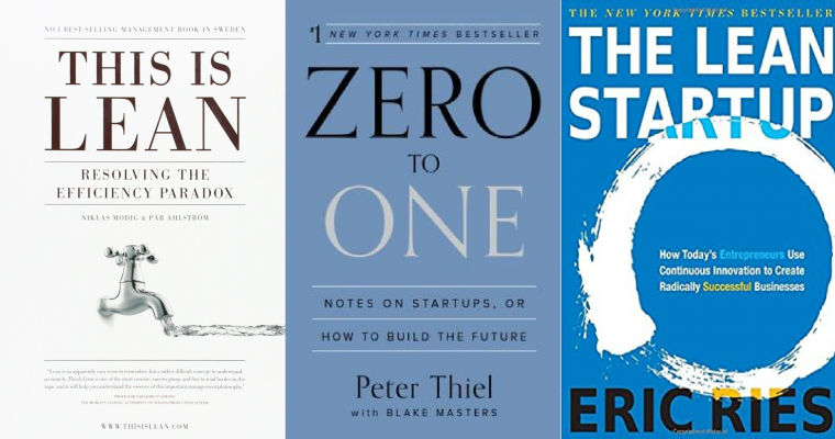 Book List #4 – Lean and Startups